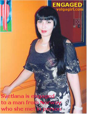 Svetlana is a 35 year old Russian girl who has registered with mail order bride agency A Volga Girl in the hopes of receiving email correspondence from you.