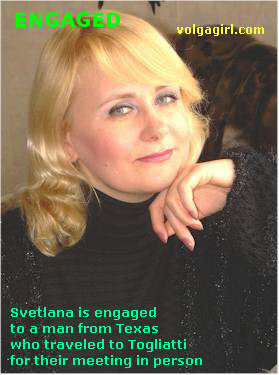Svetlana is a 47 year old Russian girl who has registered with mail order bride agency A Volga Girl in the hopes of receiving email correspondence from you.