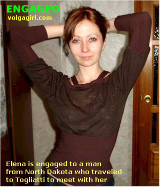 Elena is a 35 year old Russian girl who has registered with mail order bride agency A Volga Girl in the hopes of receiving email correspondence from you.