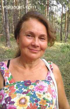 Tatiana is a 59 year old Russian girl who has registered with mail order bride agency A Volga Girl in the hopes of receiving email correspondence from you.