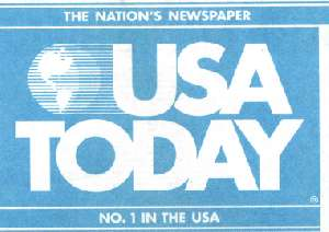 USA Today newspaper featured this July 2000 story about the growing interest by American in finding a Russian girl to become their mail order brides.